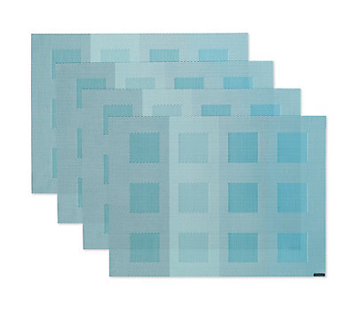 Chilewich Engineered Squares Placemats, Set of 4