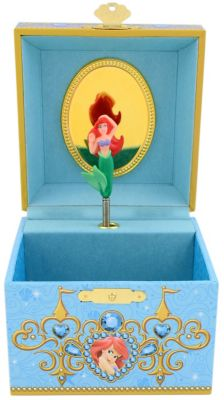 Ariel Musical Jewelry Box Walt Disney World Resort
