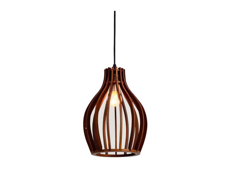 e4cba7a3 Lámpara colgar 1L 60W E27 ML1680942 madera Abitare - Easy.cl