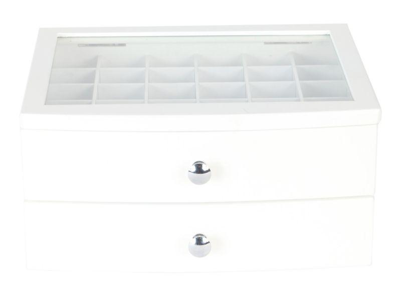 06c9e222242d Organizador joyas 1 cajón 30 espacios blanco Cotidiana - Easy.cl