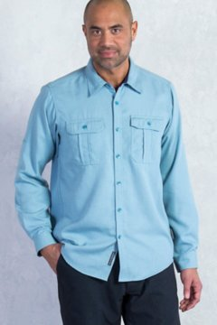 Luzio L/S, Storm Blue, medium