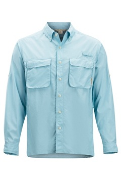 Men's Air Strip Long-Sleeve Shirt, Air Blue, medium