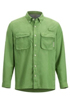 Air Strip LS Shirt, Wheatgrass, medium