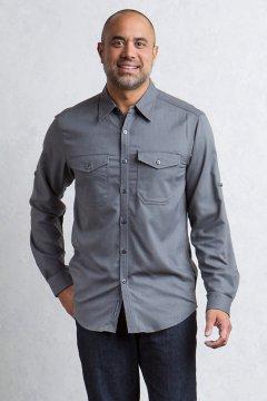 Langley L/S, Black, medium