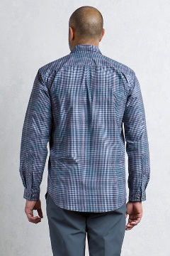 Okanagan Mini Check L/S, Timberline, medium