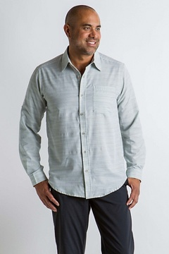 Soft Cool Avalon L/S, Sage Gray, medium