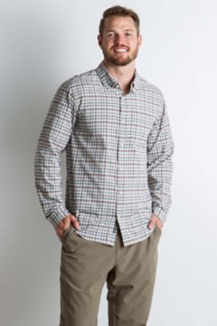 Sol Cool Chill Plaid L/S, Corsair, medium