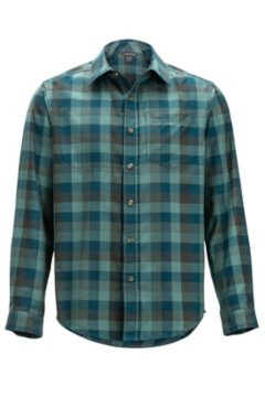 Okanagan Check L/S, Adriatic, medium