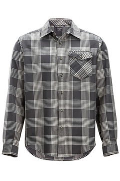 Okanagan Plaid L/S, Asphalt, medium