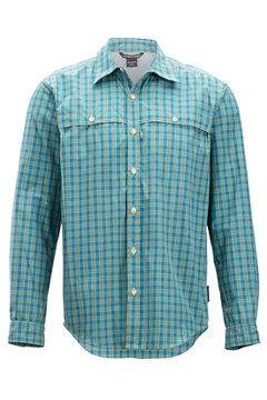 Vuelo Gingham L/S, Citronella, medium