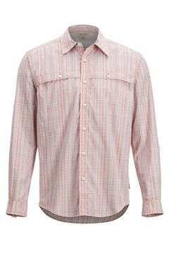Vuelo Ombre LS Shirt, Pale Pumpkin Ombre, medium