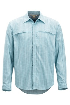 Vuelo Ombre LS Shirt, Air Blue Ombre, medium