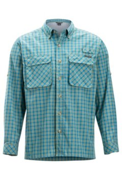 Air Strip Gingham L/S, Citronella, medium