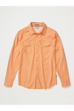 Men's Estacado Long-Sleeve Shirt, Clementine, medium