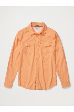 Men's Estacado Long-Sleeve Shirt, Clementine, medium