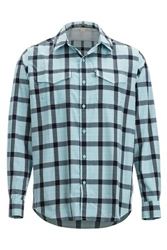 Men's Estacado Long-Sleeve Shirt, Air Blue, medium
