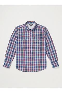 Men's Estacado Long-Sleeve Shirt, Admiral Blue, medium