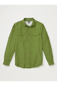 Men's Estacado Long-Sleeve Shirt, Alpine Green, medium