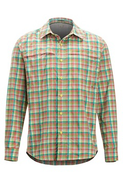 Tellico LS Shirt, Honeydew, medium