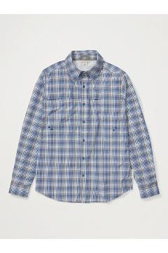 Men's Tellico Long-Sleeve Shirt, Admiral Blue, medium