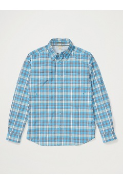 Men's Tellico Long-Sleeve Shirt, Clear Blue, medium