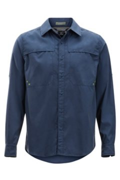 Tellico LS Shirt, Navy, medium