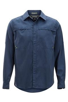 Men's Tellico Long-Sleeve Shirt, Navy, medium