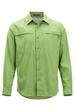 Tellico LS Shirt, Wheatgrass, medium