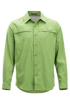 Tellico LS Shirt, Wheatgrass, medium