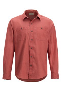 Gaillac LS Shirt, Retro Red, medium