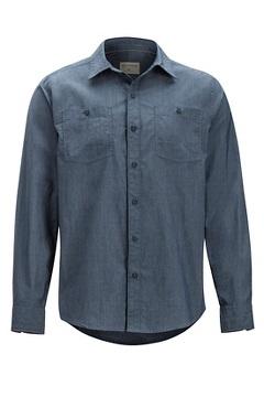 Gaillac LS Shirt, Navy, medium