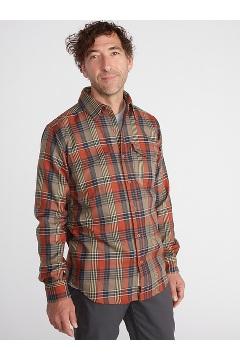 Men's Stonefly Midweight Flannel Shirt, Rust, medium