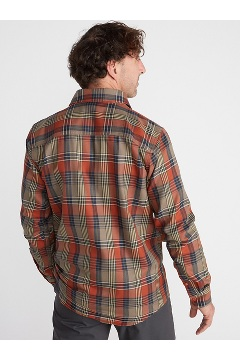 Men's Stonefly Midweight Flannel Shirt, Stormy Weather, medium