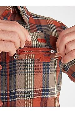 Men's Stonefly Midweight Flannel Shirt, Alpine Green, medium