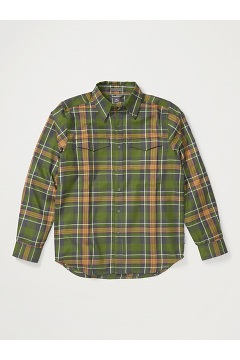 Men's Stonefly Midweight Flannel Shirt, Alpine Green, medium