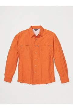 Men's Reef Runner Long-Sleeve Shirt, Gold Flame, medium
