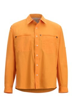 Reef Runner LS Shirt, Pale Pumpkin, medium