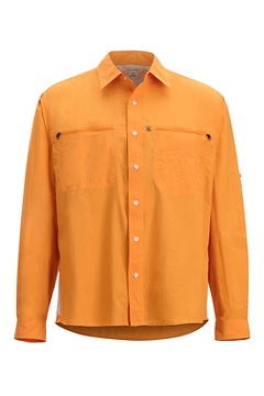 Men's Reef Runner Long-Sleeve Shirt, Pale Pumpkin, medium