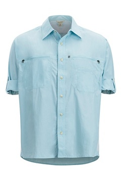 Men's Reef Runner Long-Sleeve Shirt, Air Blue, medium