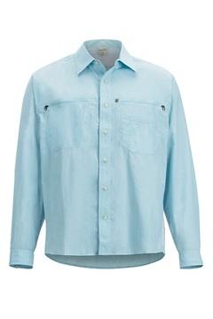Men's Reef Runner Long-Sleeve Shirt, Air Blue, medium