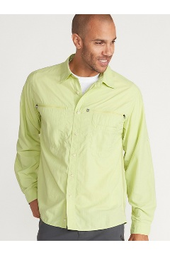 Men's Reef Runner Long-Sleeve Shirt, Margarita, medium