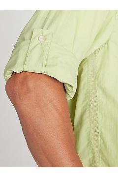 Men's Reef Runner Long-Sleeve Shirt, White, medium
