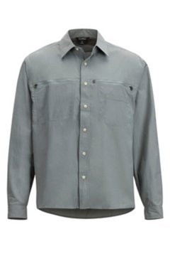 Reef Runner LS Shirt, Grey Storm, medium