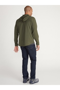 Men's Dorado Hoody, Oyster, medium