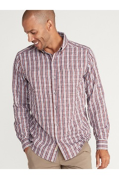 Men's Sailfish Long-Sleeve Shirt, Redwood, medium