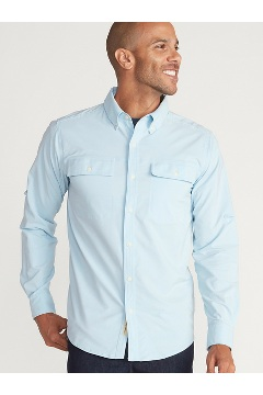 Men's Vizcaino Long-Sleeve Shirt, Blue Bell, medium