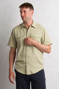 Sondar S/S, Lt Khaki, medium
