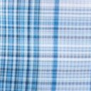 Ventana Plaid S/S, Deep Water, swatch