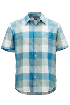 Next-To-Nothing Artesia Plaid S/S, Bonsai, medium