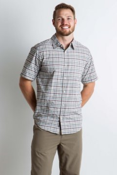 Sol Cool Chill Plaid S/S, Corsair, medium